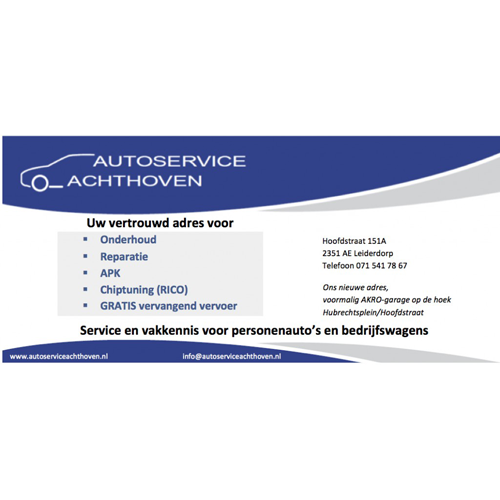 Autoservice Achthoven